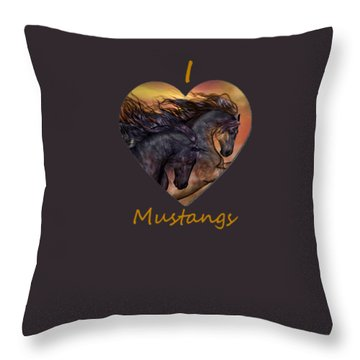 On Sugar Mountain Throw Pillow by Valerie Anne Kelly