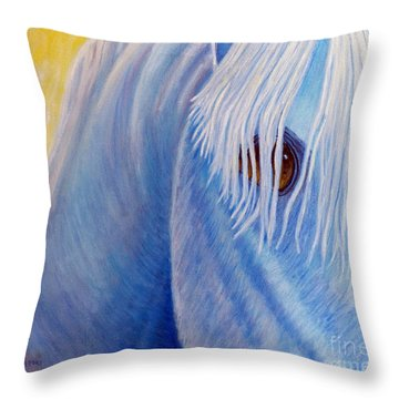 Once Upon A Time Throw Pillow by Brian  Commerford