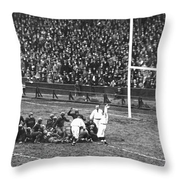 One For The Gipper Throw Pillow by Underwood Archives