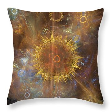 One Ring To Rule Them All Throw Pillow by John Robert Beck
