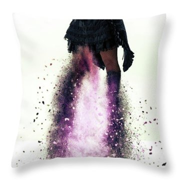 Operatic Throw Pillow by Stephen Smith