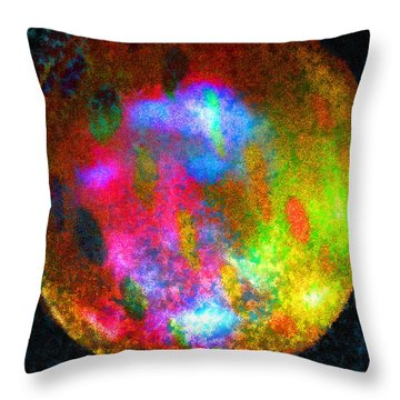 Orb 1 Throw Pillow by Michael Durst
