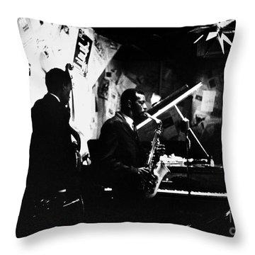 Ornette Coleman (1930-) Throw Pillow by Granger