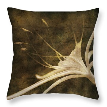 Our Melody Throw Pillow by Susanne Van Hulst