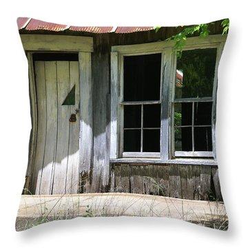 Ozark Homestead Throw Pillow by Marty Koch