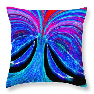 Pagliacci Throw Pillow by Paul Wear