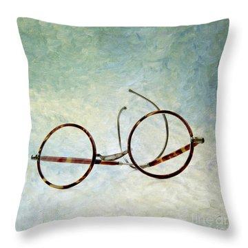 Pair Of Glasses Throw Pillow by Bernard Jaubert
