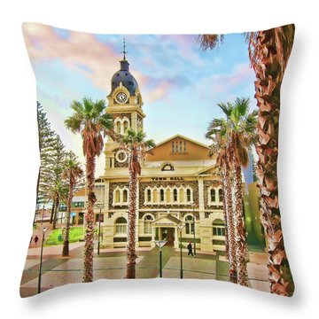 Palette  Throw Pillow by Douglas Barnard