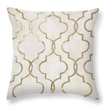 Paris Apartment Iv Throw Pillow by Mindy Sommers