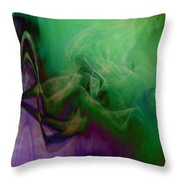 Part Of Rapture Throw Pillow by Linda Sannuti
