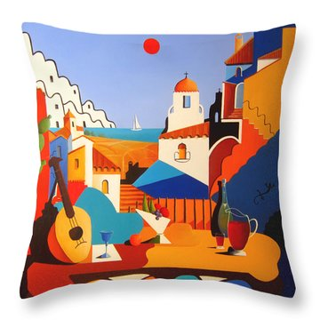 Passion For Life Throw Pillow by Joe Gilronan