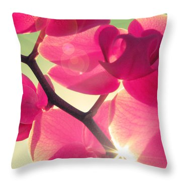 Passionato Throw Pillow by Amy Tyler