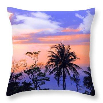 Patong Thailand Throw Pillow by Mark Ashkenazi