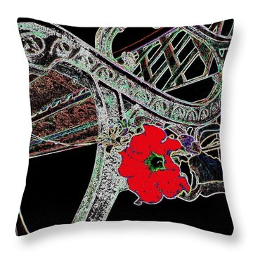 Pause To Contemplate 1 Throw Pillow by Will Borden