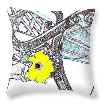 Pause To Contemplate 2 Throw Pillow by Will Borden