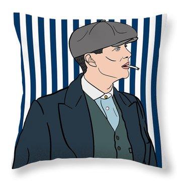 Peaky Blinders Throw Pillow by Nicole Wilson