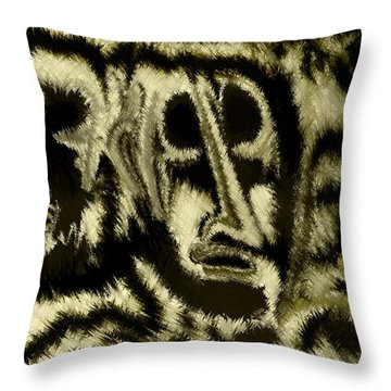 People Throw Pillow by Rafi Talby