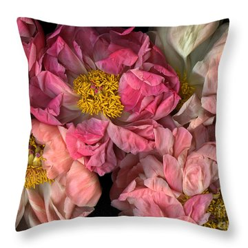 Petticoats Throw Pillow by Christian Slanec