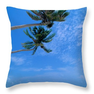 Philippines, Boracay Isla Throw Pillow by William Waterfall - Printscapes