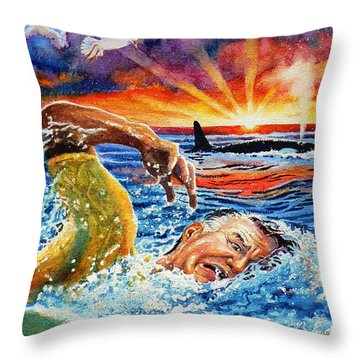 Pooka Hill 1 Throw Pillow by Hanne Lore Koehler