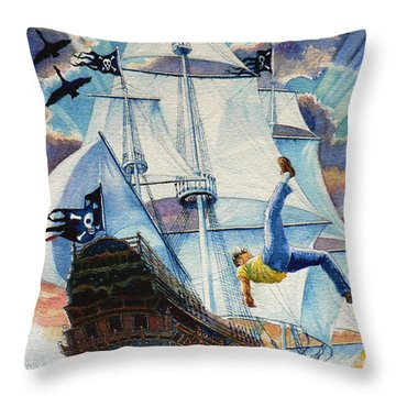 Pooka Hill 11 Throw Pillow by Hanne Lore Koehler