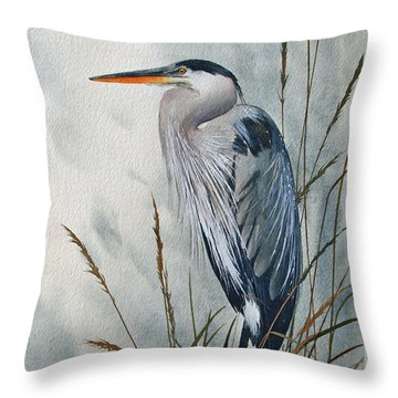 Portrait In The Wild Throw Pillow by James Williamson