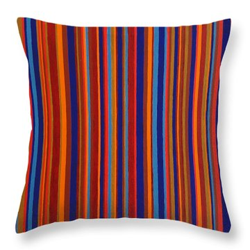 Post Pictura Throw Pillow by Oliver Johnston