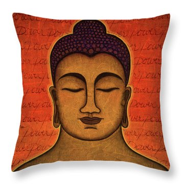 Power Throw Pillow by Gloria Rothrock