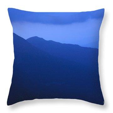 Presidential Range - White Mountains Nh Usa Throw Pillow by Erin Paul Donovan