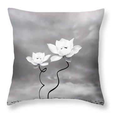 Prevail Throw Pillow by Jacky Gerritsen