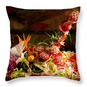 Priapos' Temptation Throw Pillow by John Poon