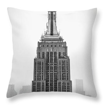Pride Of An Empire Throw Pillow by Az Jackson