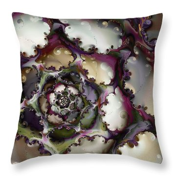 Prima Donna Throw Pillow by Kim Redd