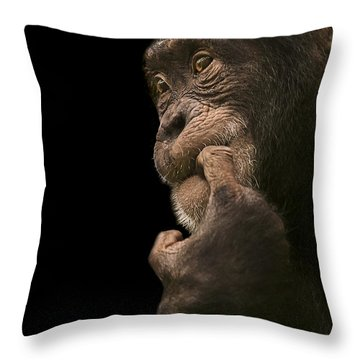 Promiscuous Girl Throw Pillow by Paul Neville