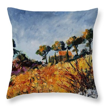 Provence 6741254 Throw Pillow by Pol Ledent
