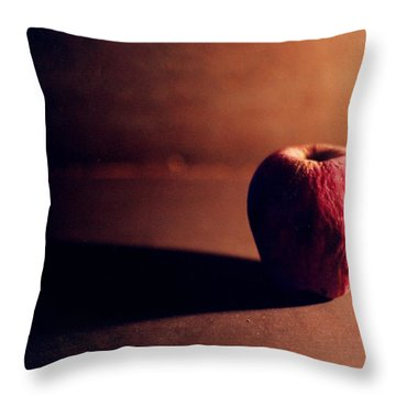 Pruned Apple Still Life Throw Pillow by Michelle Calkins