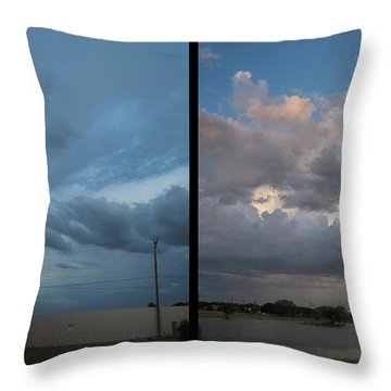 Purgatory Throw Pillow by James W Johnson