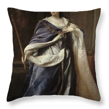 Queen Anne Throw Pillow by Edmund Lilly