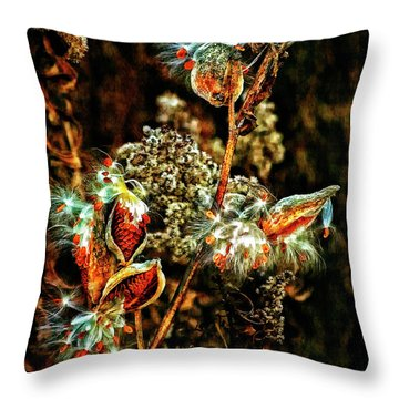 Queen Of The Ditches II Throw Pillow by Steve Harrington