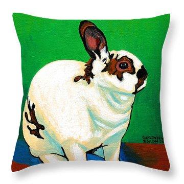 Queenie Throw Pillow by Genevieve Esson