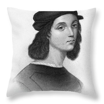 Raphael (1483-1520) Throw Pillow by Granger