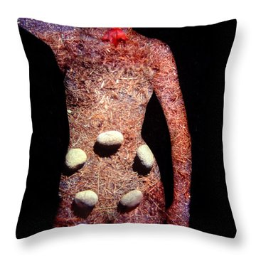 Raquel Throw Pillow by Arla Patch