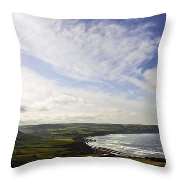 Ravenscar Throw Pillow by Svetlana Sewell