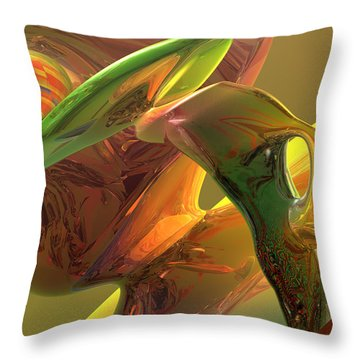 RBG Throw Pillow by Scott Piers
