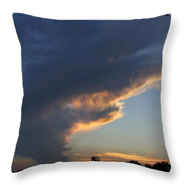 Reach For The Sky 25 Throw Pillow by Mike McGlothlen