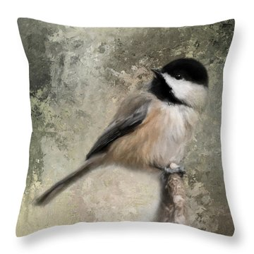 Ready For Spring Seeds Throw Pillow by Jai Johnson