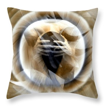 Rebirth Throw Pillow by Kurt Van Wagner