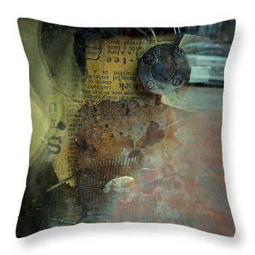 Reflection 1 Throw Pillow by Marcia L Jones