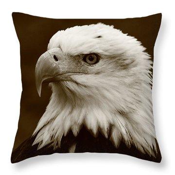 Regal  Eagle Throw Pillow by Bruce J Robinson