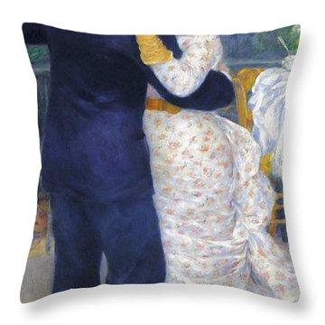 Renoir: Dancing, 1883 Throw Pillow by Granger
